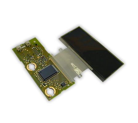Heat seal application Flex (FPC) to glass (LCD)
