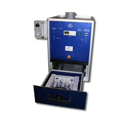 UV-Bestrahlungskammer mit CO2-Inertisierung